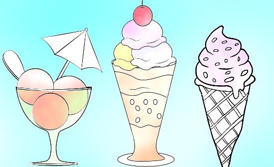 Виды мороженного по франшизе