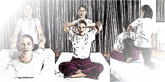профессионалы массажа