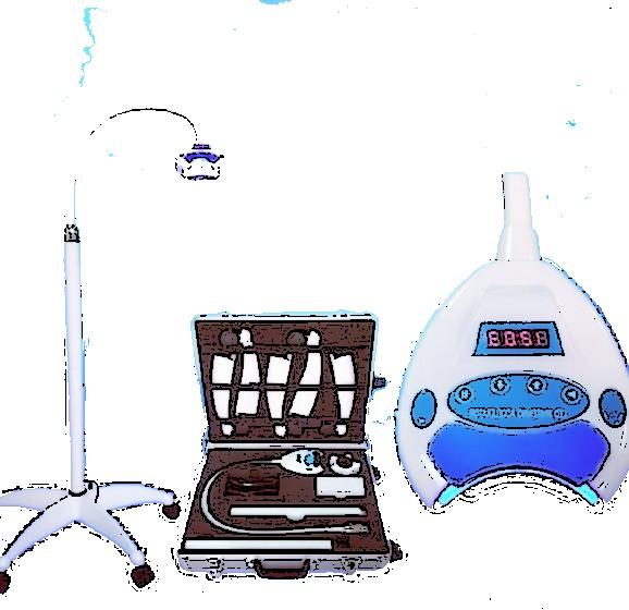 Оборудования для процедуры отбеливания зубов