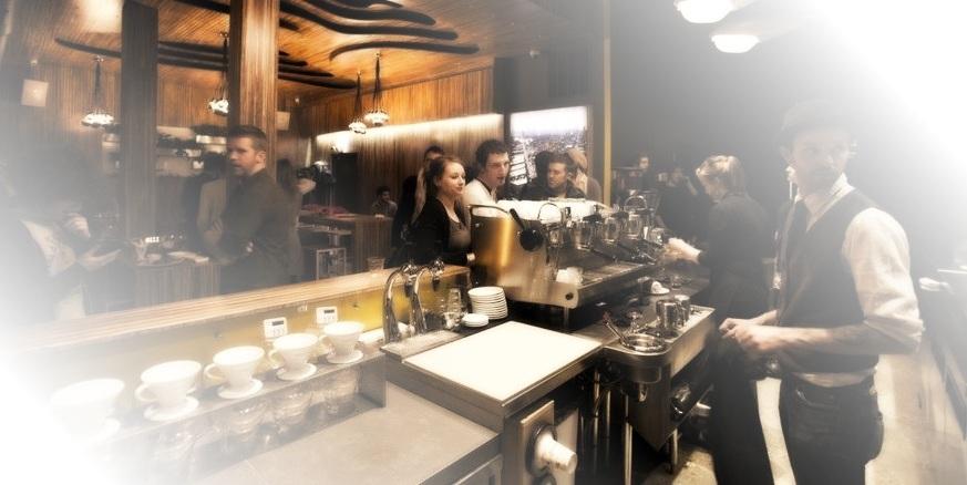 посетители кофеен