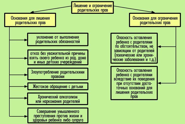 chto javljaetsja osnovaniem dlja lishenija roditelskih prav 9de3e4c