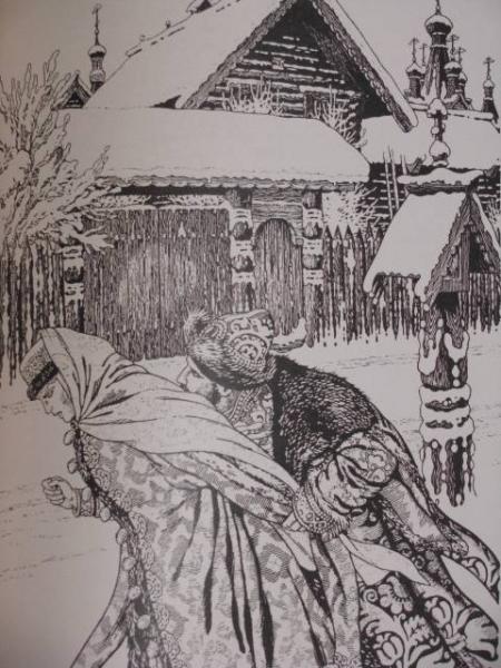 illjustracii k poeme pesnja pro carja ivana vasilevicha molodogo oprichnika i udalogo kupca kalashnikova lermontova kartinki risunki 700d431