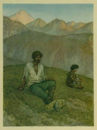illjustracii k rasskazu kavkazskij plennik l n tolstogo hudozhnik m s rodionov kartinki risunki 30b09b9