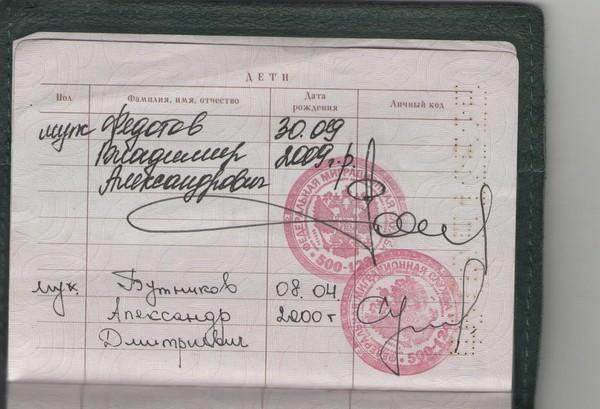 kak i gde vpisat rebenka v pasport rf roditelej ba50d17