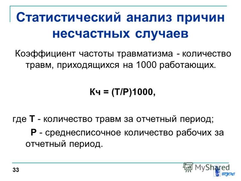 koefficient chastoty proizvodstvennogo travmatizma 71085fa