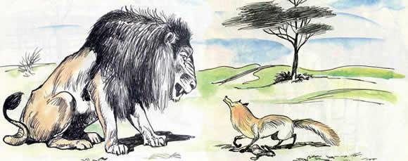 moral basni lev i lisica krylova analiz sut smysl 95eaad0