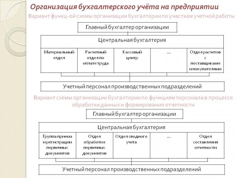 organizacija buhgalterskogo ucheta na predprijatii 81a36d2