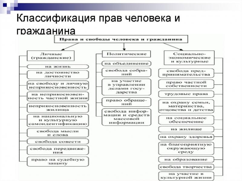 osnovnye prava i svobody cheloveka i grazhdanina rf po konstitucii statja i federalnye zakony f79236b