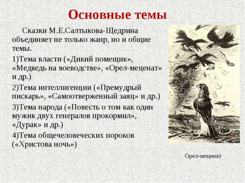 osnovnye temy skazok saltykova shhedrina tematika i problematika 4c04c0f