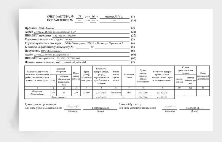 perevystavlenie schetov faktur osobennosti shema zapolnenija 8bc03fb