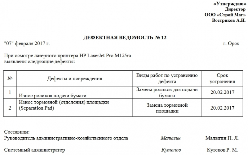 Эксплуатации крана из о образец приказа выводе Акт вывода