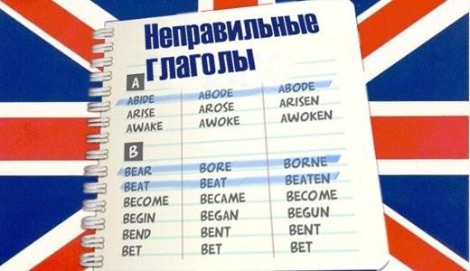 tablica nepravilnyh glagolov anglijskogo jazyka s perevodom d49a993