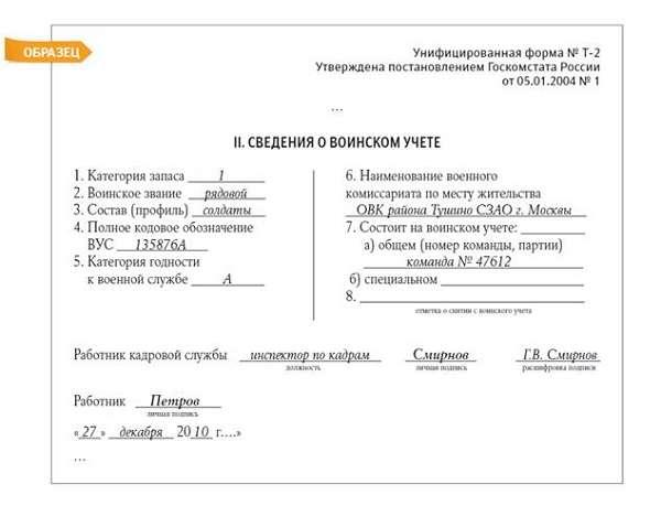 voinskij uchet v organizacii vedenie poshagovaja instrukcija 51bcae1