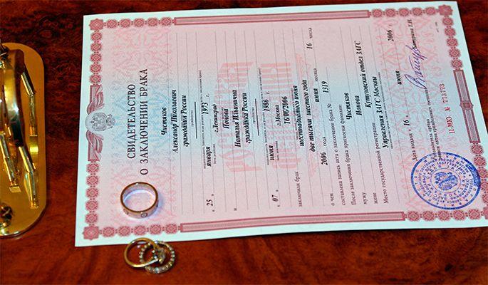 zabirajut li svidetelstvo o brake pri rastorzhenii braka 6bde81e