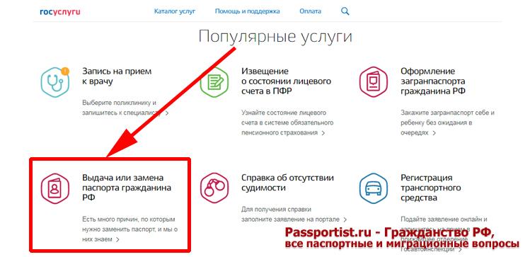 zamena pasporta rf na portale gosuslug kak pomenjat pasport cherez internet d0bdda5